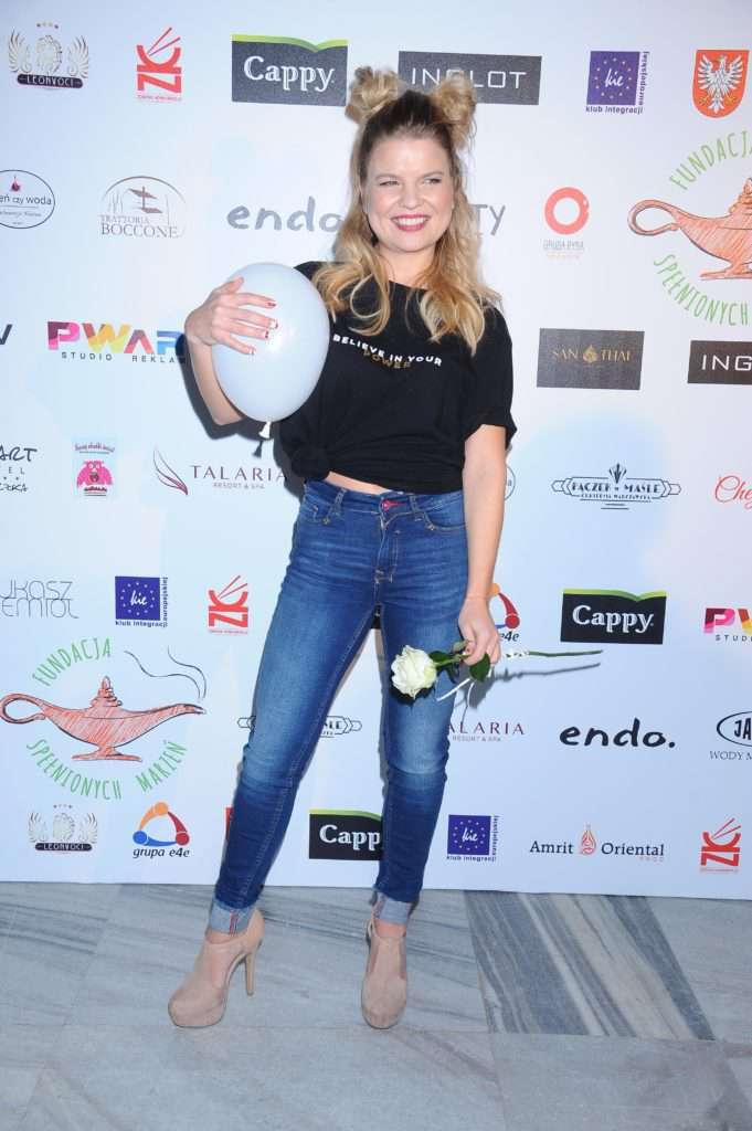 Marta Manowska - charytatywny pokaz mody