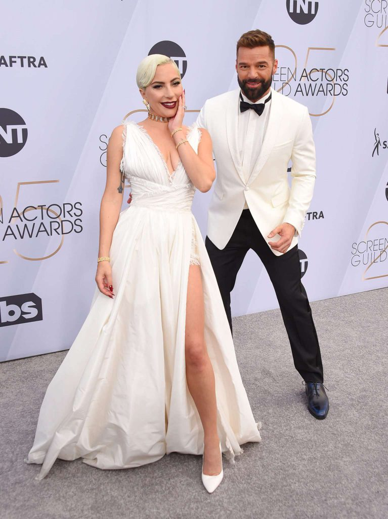 Lady Gaga i Ricky Martin - SAG Awards 2019