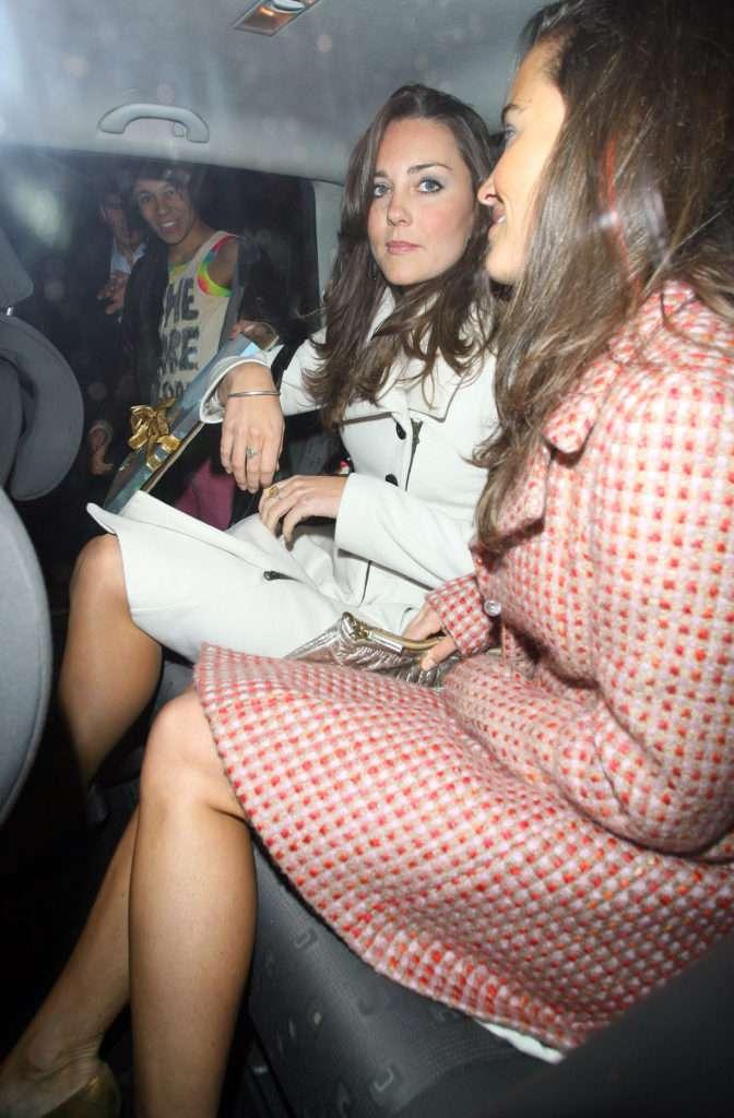 Kate Middleton 2008 r.