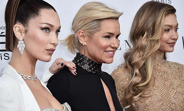 Bella Hadid, Yolanda Hadid, Gigi Hadid