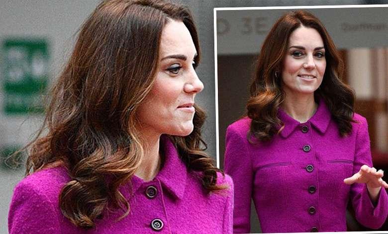 Księżna Kate w starej kreacji zawitała do opery! Kolor piękny ale i tak wszyscy patrzyli na buty