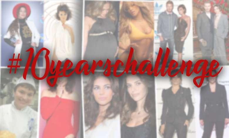 #10yearschallenge opanowało Instagram! Zobacz jak wyglądały gwiazdy 10 lat temu!