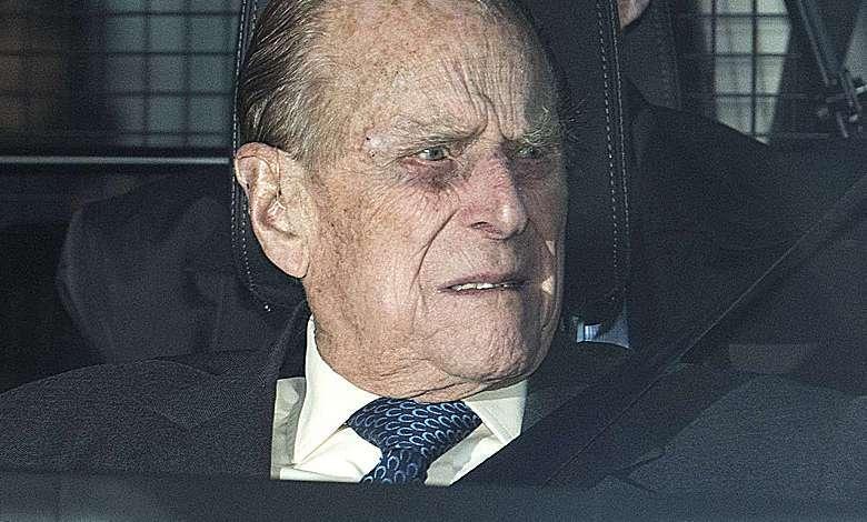 książę Filip miał wypadek