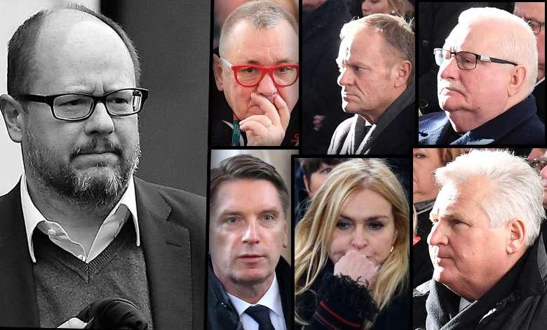 Pogrzeb prezydenta Pawła Adamowicza. Żegnają go osobistości ze świata polityki i mediów