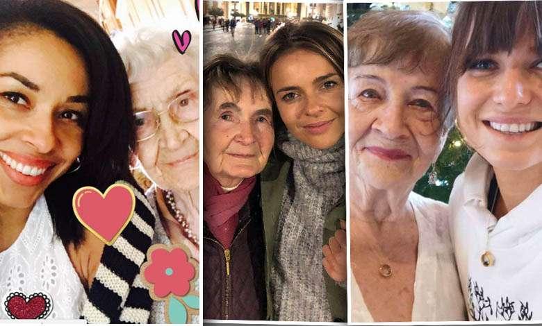 Dzień Babci wśród gwiazd. W social mediach nie brakuje pięknych zdjęć! Anna Lewandowska, Omenaa Mensah, Edyta Herbuś
