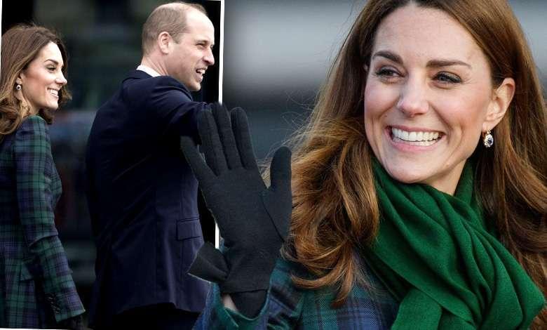 Księżna Kate i książę William w Dundee