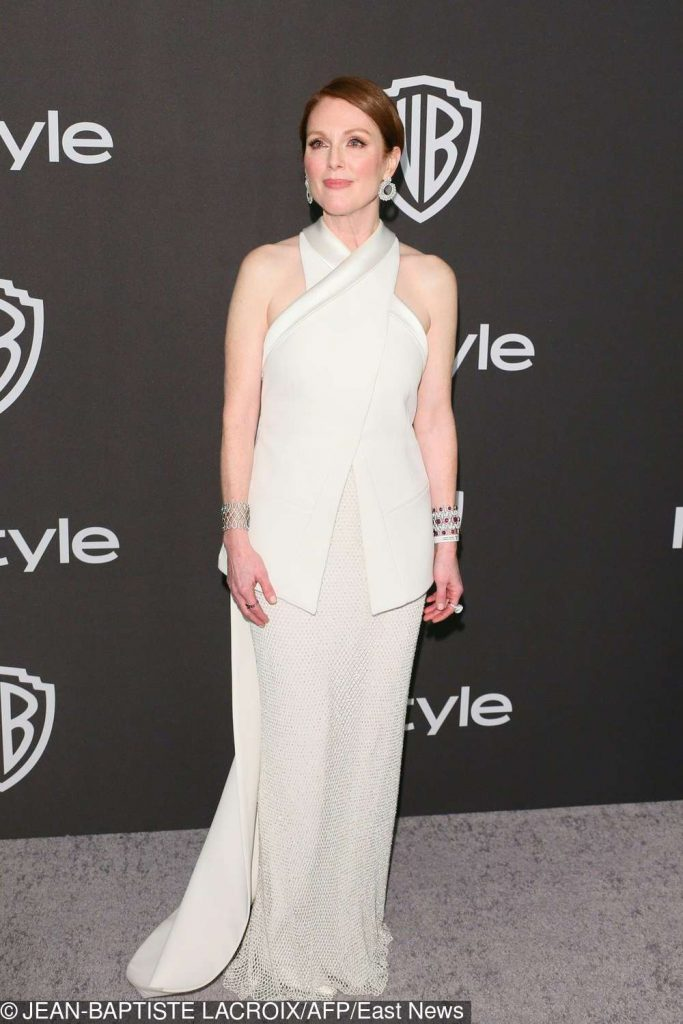 Julianne Moore - Złote Globy 2019 after party InStyle