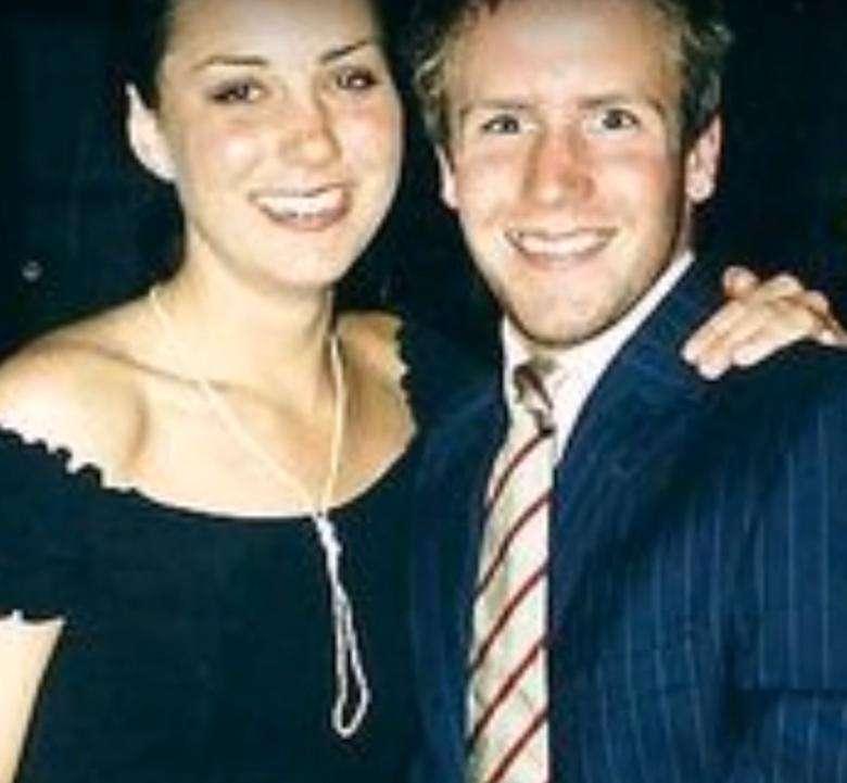 Kate Middleton i Rupert Finch byli parą przez rok