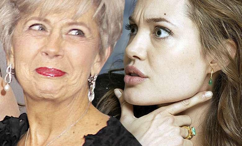 Angelina Jolie, matka Brada Pitta konflikt