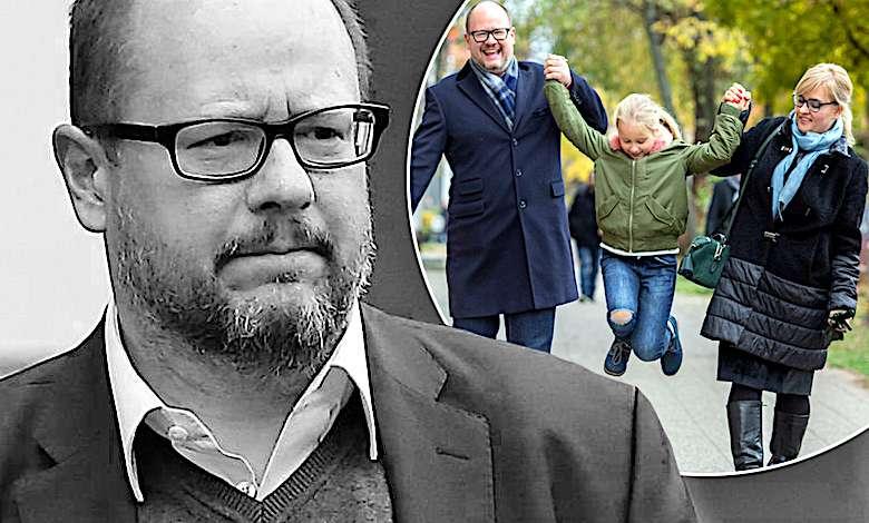 Paweł Adamowicz rodzina żona córka dzieci