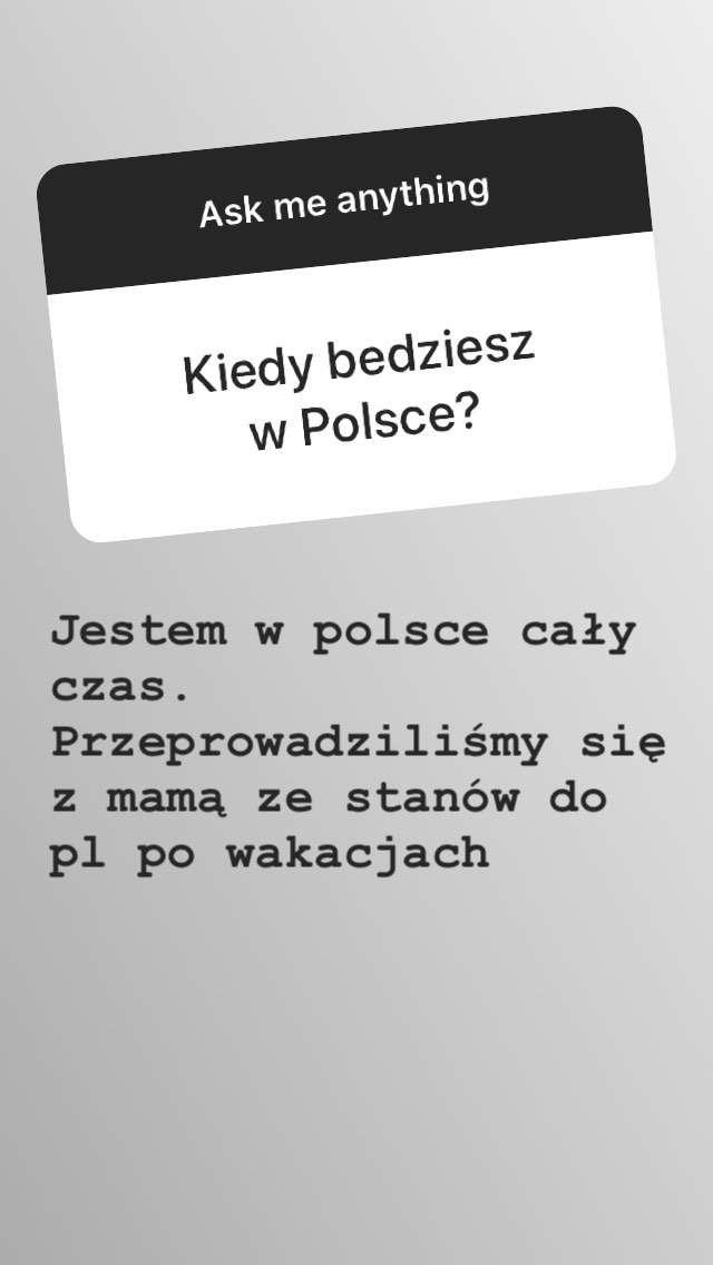 Allan Krupa w ogniu pytań na Instagramie! Syn Edyty Górniak bardzo dzielnie odpierał ataki Internautów! zdjecie 1
