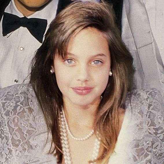 Angelina Jolie w dzieciństwie na Oscarach