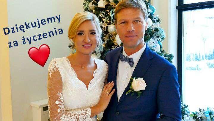 Aurelia Krząkała i Wojciech Brzozowski wzięli ślub