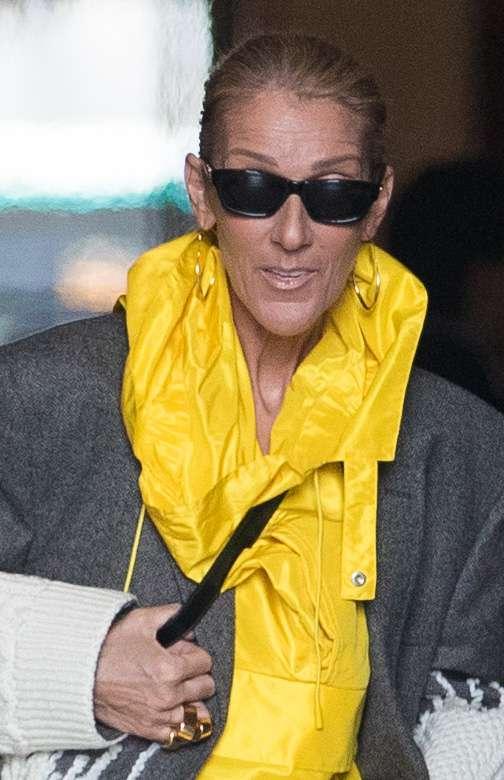 Celine Dion maskuje szczupłą sylwetkę w oryginalnej sukience