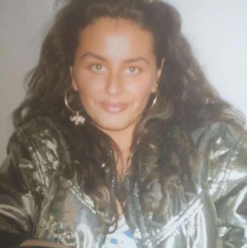 Dagmara Kaźmierska w młodości