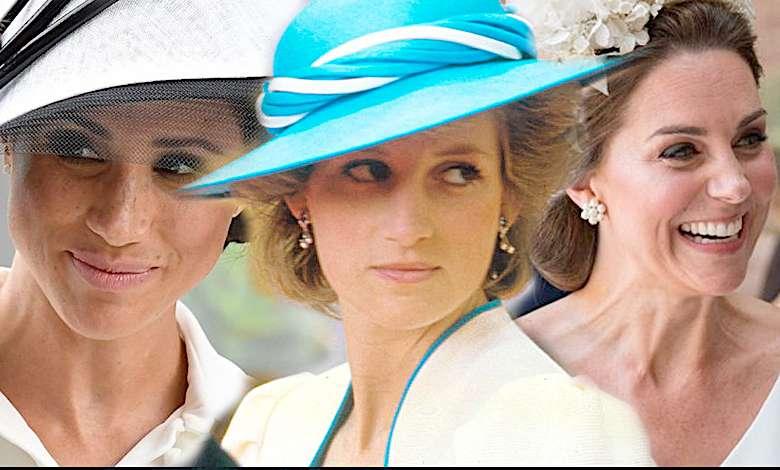 Księżna Diana, Kate, Meghan Markle