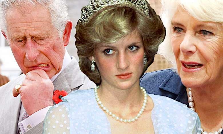 Księżna Diana, Camilla Parker-Bowles i książę Karol