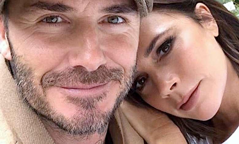 David i Victoria Beckham zaręczyny