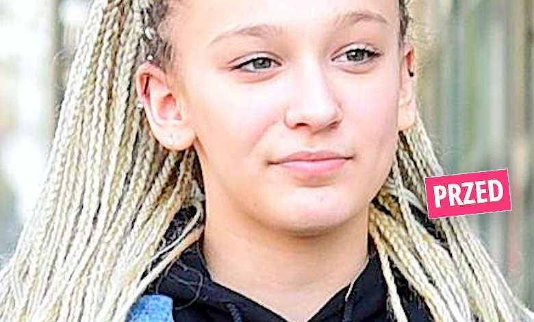 Z trudem poznaliśmy córkę Wiśniewskiego i Mandaryny! Fabienne ma nową mroczną fryzurę! Oj, chyba weszła w okres buntut