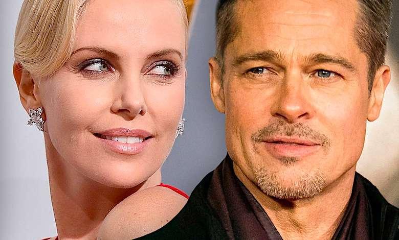 Do sieci trafiło pierwsze wspólne zdjęcie Brada Pitta z Charlize Theron! Ich związek wstrząśnie show-biznesem!