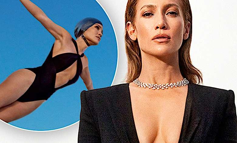 Jennifer Lopez okładki Harper's Bazaar