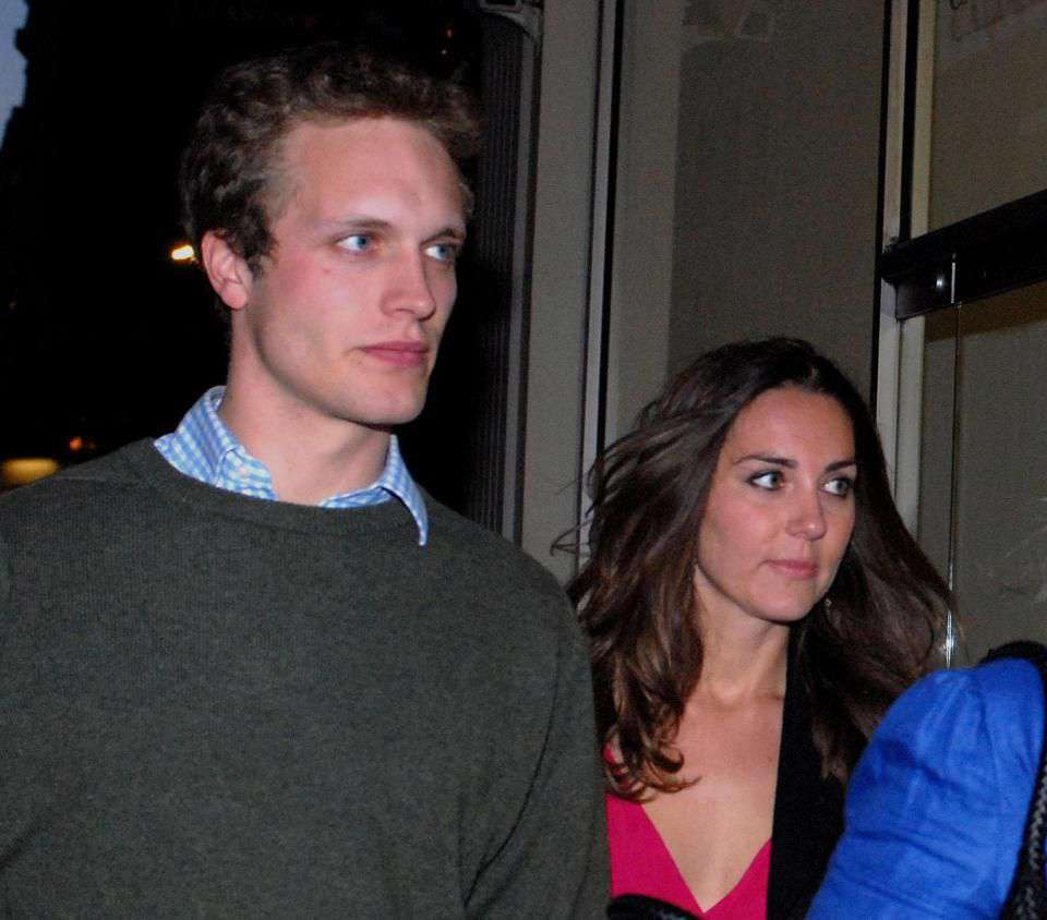 Księżna Kate i Henry Ropner spotykali się w 2007 roku (fot. ONS)