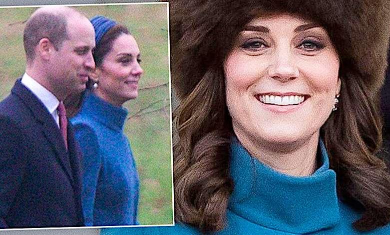 Księżna Kate stary płaszcz