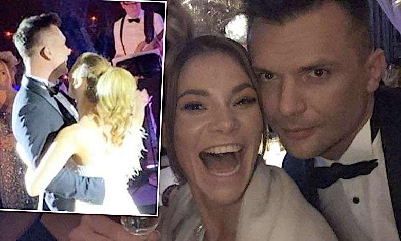 Maja Bohosiewicz ślub suknia zdjęcia mąż
