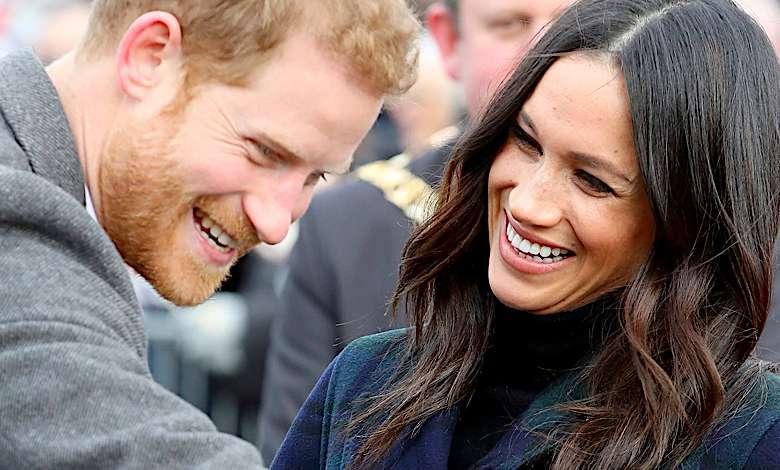 Meghan Markle i książę Harry zdjęcie