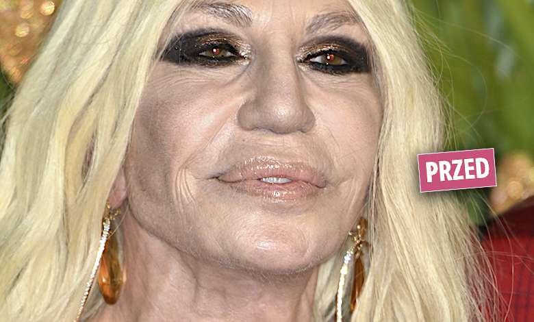 Donatella Versace nowa twarz