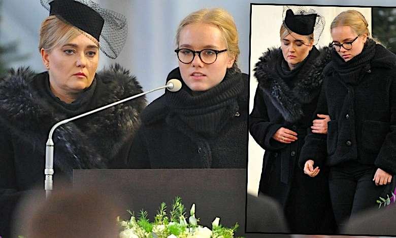 Poruszająca przemowa żony i córki na pogrzebie Pawła Adamowicza. Ich słowa rozrywają serce [WIDEO]