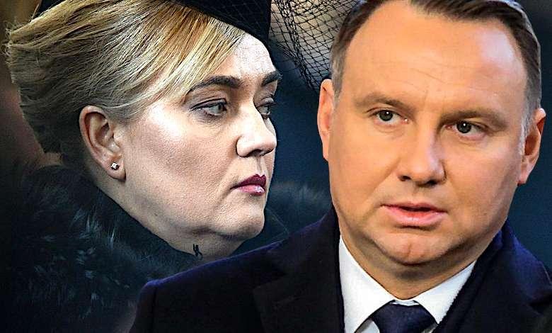 Magdalena Adamowicz i Andrzej Duda
