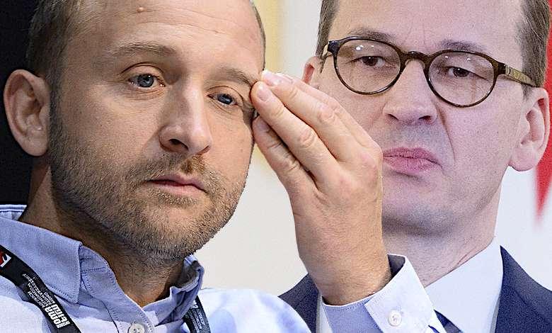 Borys Szyc i Mateusz Morawiecki konflikt