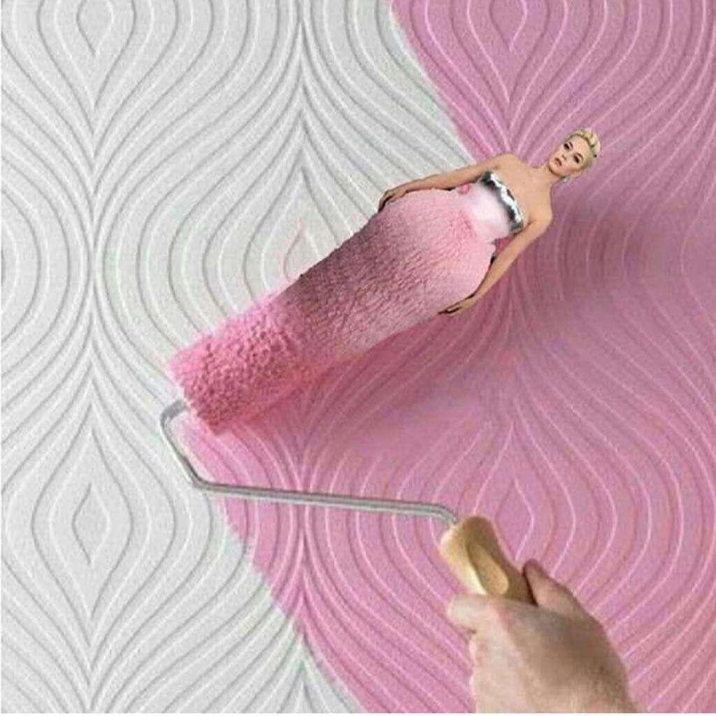 Katy Perry jak wałek malarski