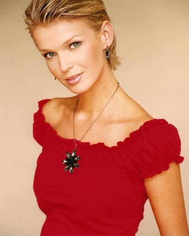 Magda Mołek na zdjęciu z 2002 roku