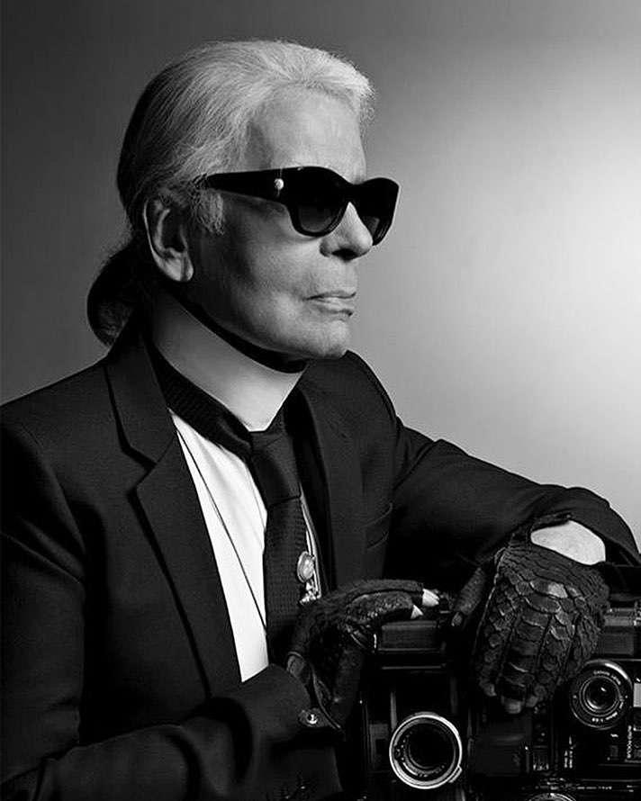 Mateusz Maga pożegnał Karla Lagerfelda