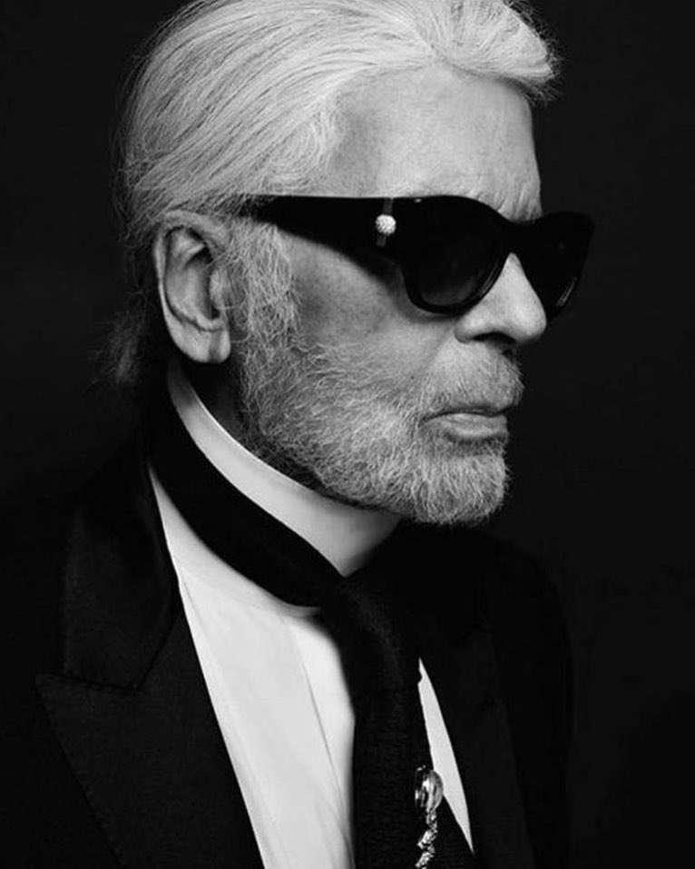 Victoria Beckham pożegnała Karla Lagerfelda
