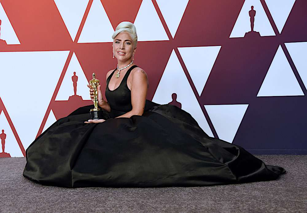 Lady Gaga z Oscarem 2019