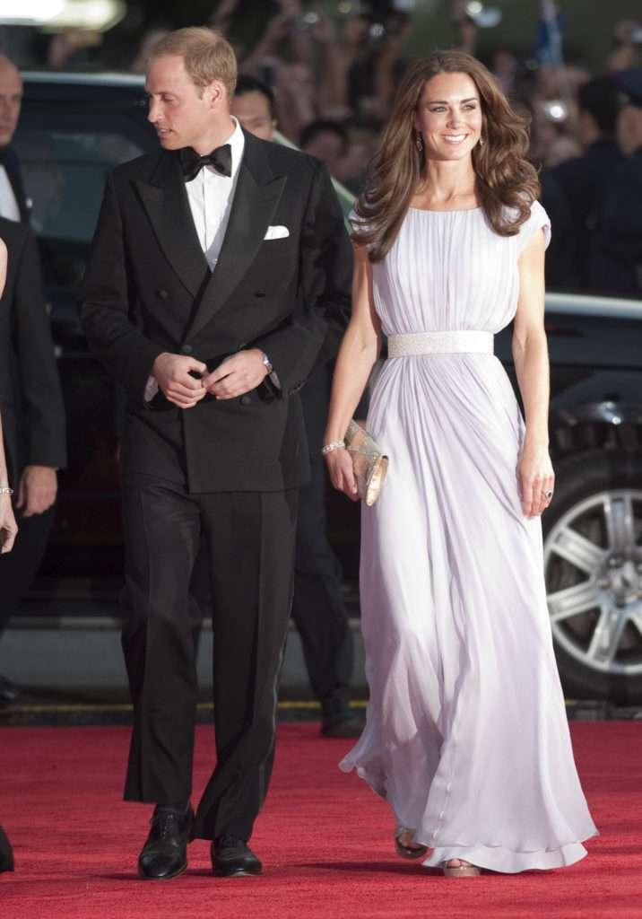 Księżna Kate i William - BAFTA 2011