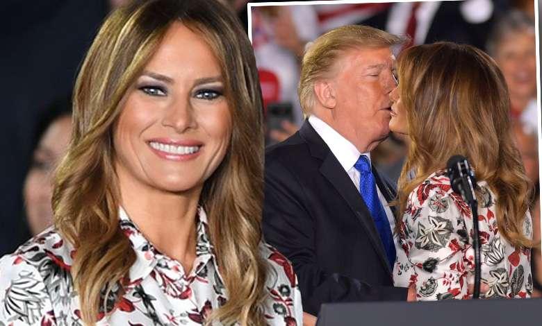 Namiętne pocałunki Melanii i Donalda wprawiły widownię w osłupienie! Tyle miłości nie okazywali sobie od dawna
