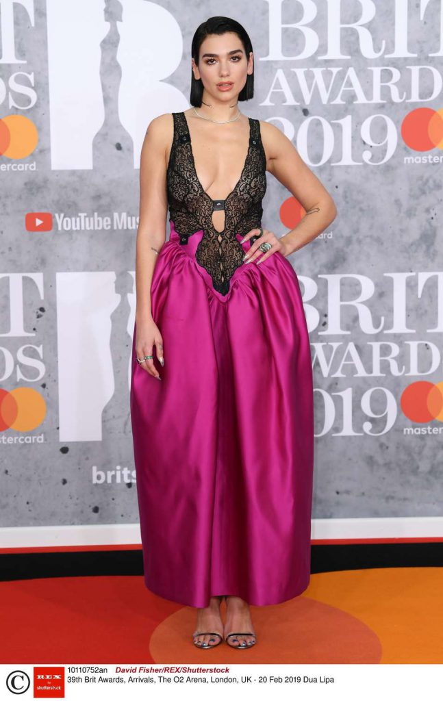 Dua Lipa - Brit Awards 2019