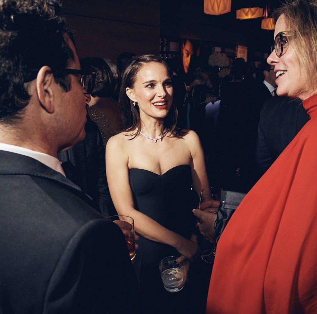 Natalie Portman Vanity Fair Oscar Party 2019