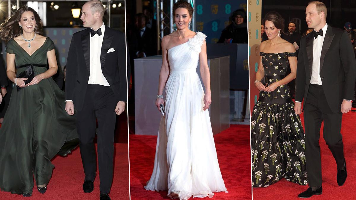 BAFTA księżna Kate stylizacje