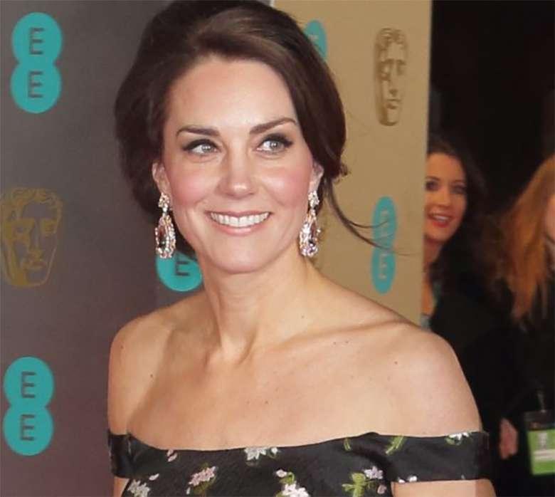 Księżna Kate na gali BAFTA 2017