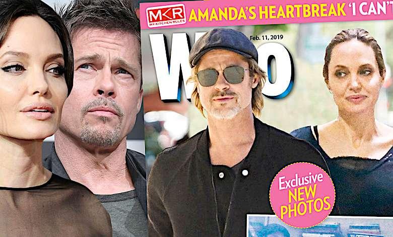 Angelina Jolie i Brad Pitt nowe zdjęcia pary