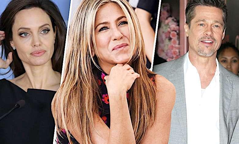 Angelina Jolie, Jennifer Aniston, Brad Pitt powrót