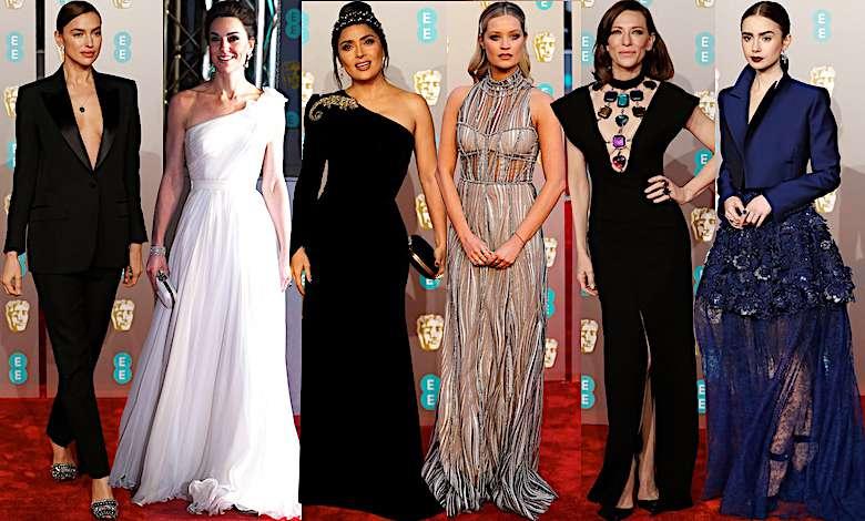 BAFTA 2019 kreacje gwiazd na gali