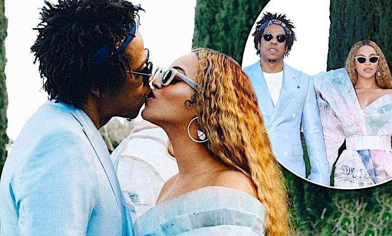 Beyonce i Jay-Z w sesji przed Grammy 2019