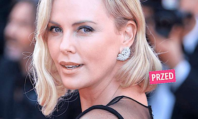 Charlize Theron metamorfoza