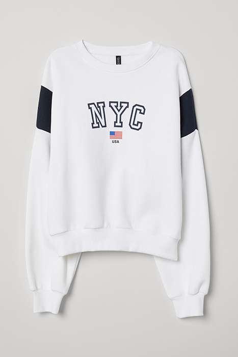 Bluza NYC z H&M
